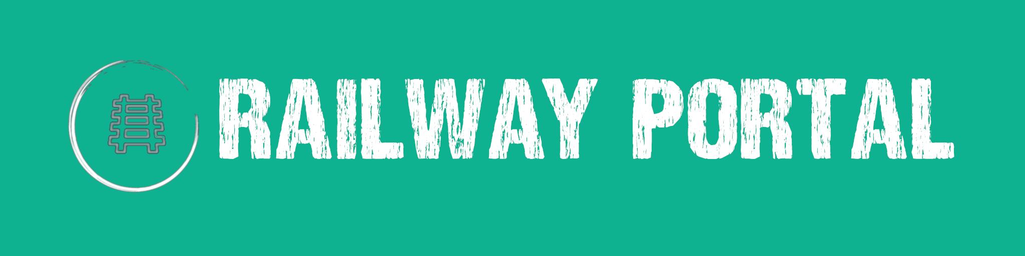 Schriftzug-Railway-Portal